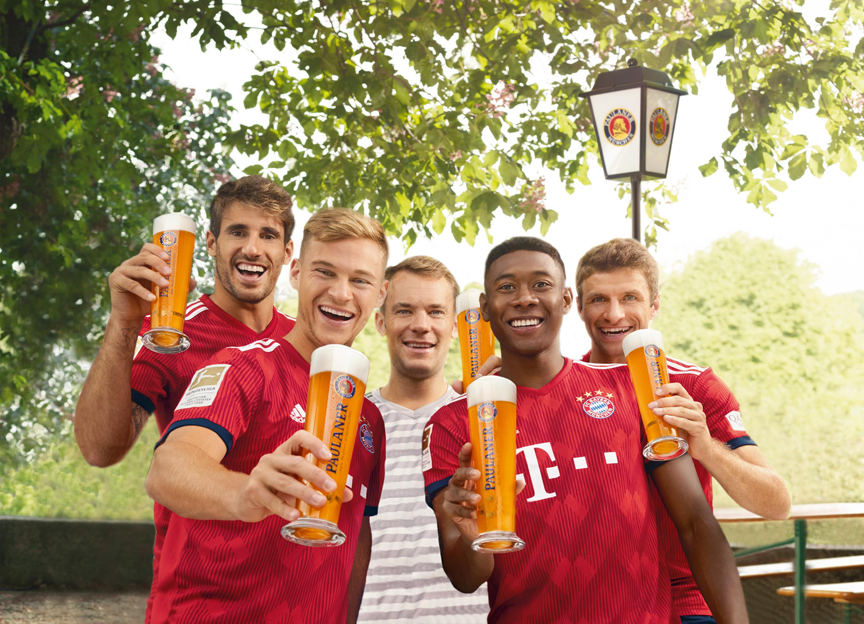 Fc Bayern Mu00fcnchen Paulaner Brauerei Mu00fcnchen